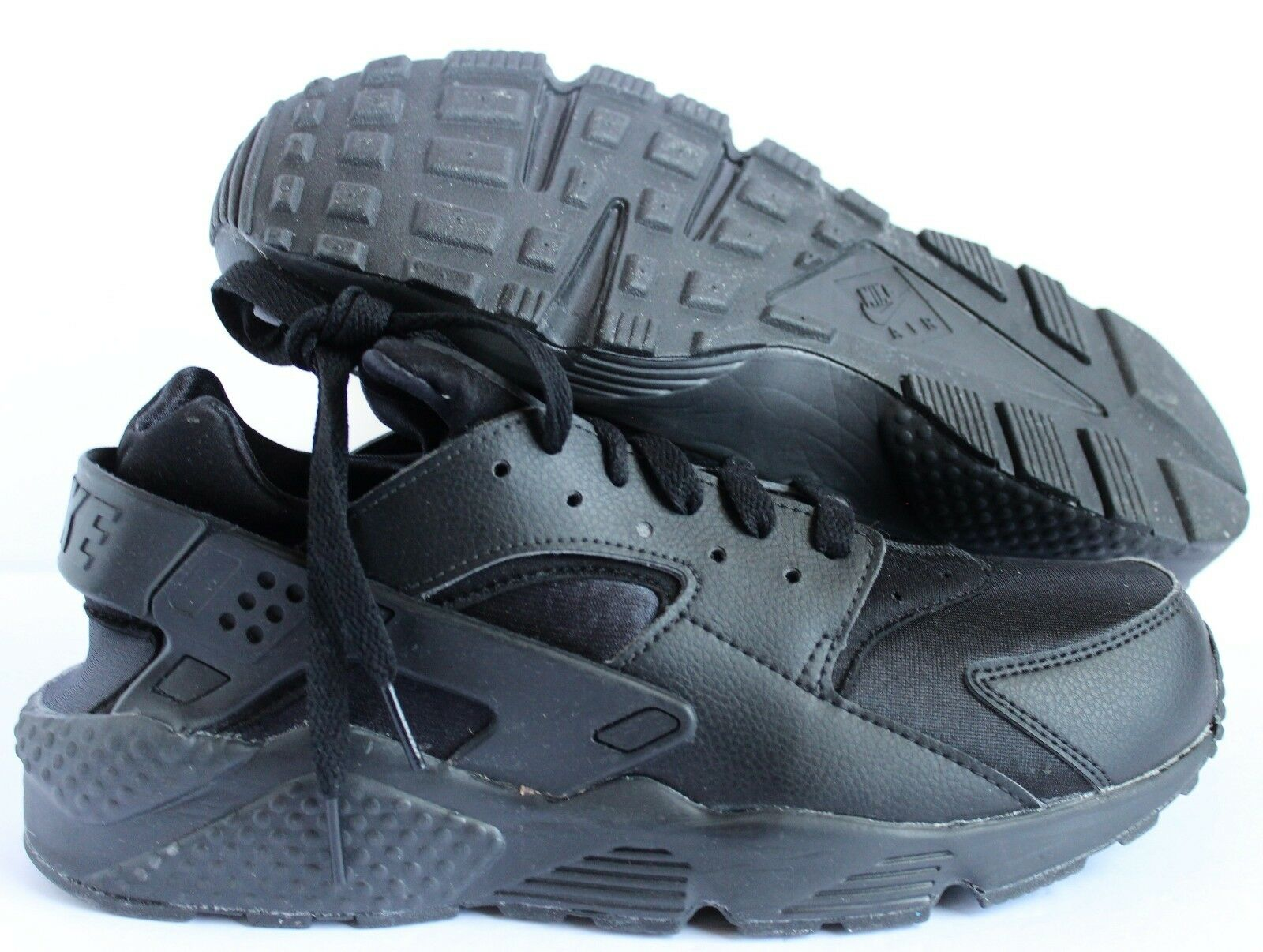 Nike Men's Air Huarache Premium ID Black  SZ 9.5  [777330-991]