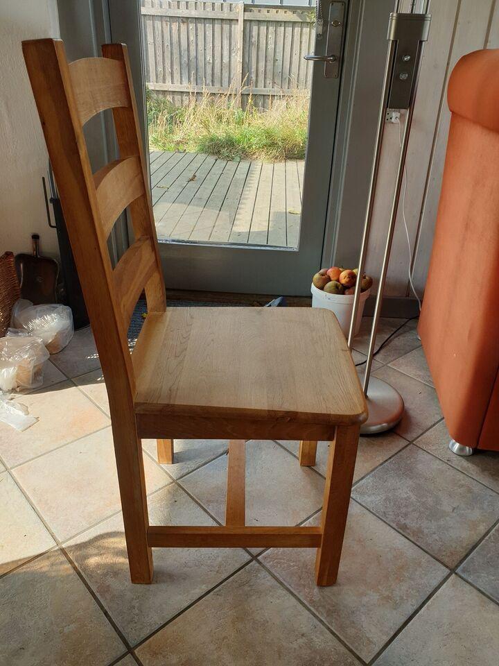 Spisebordsstol, Eg