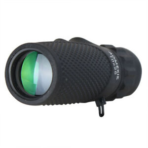 10x25 Compact Monocular Optical Prism Multi-coated Lens Telescope For Camping AgréAble à GoûTer