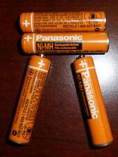 Panasonic Original HHR-55AAABU Rechargeable Phone Batteries 550mAh replacement