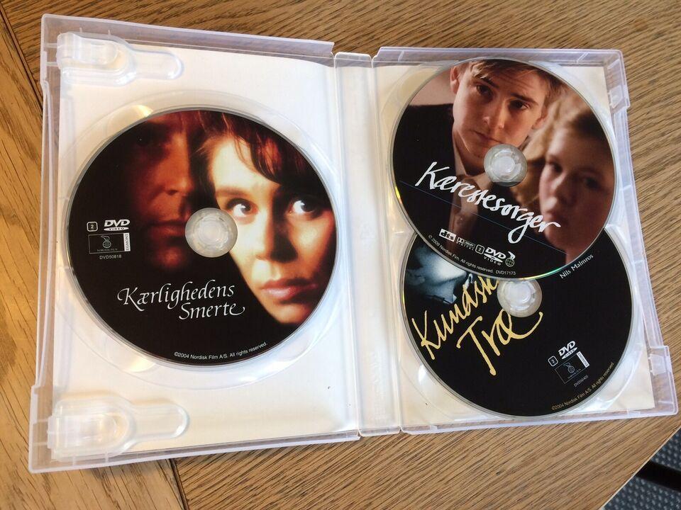 Nils Malmros boks (3DVD), DVD, drama