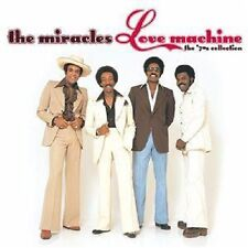 The Miracles -  Love Machine The 70's Collection -New CD