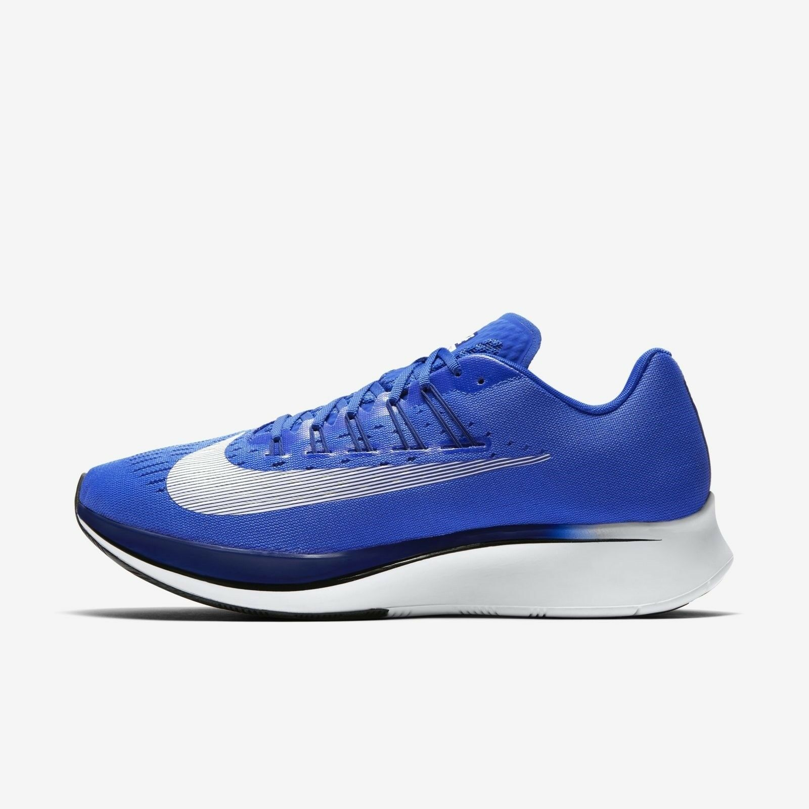 Men's Nike Zoom Fly Running shoes Royal Deep Royal blueee Size 13 880848 411 NIB