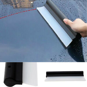 Car-Window-Squeegee-Flexible-Soft-Silicone-Wiper-Drying-Water-Blade-Valeting-New