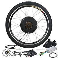 48v 1000w Electric Bicycle Conversion Kit Motor Hub E Bike 26 Rear Wheel