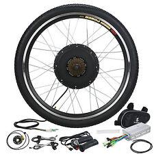 "26"" Electric Bicycle Rear Wheel E-Bike Conversion Kit 48V 1000W Motor Hub Speed"