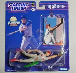 Kenner Starting Lineup   1998 MLB Baseball - Extended Series Scott Rolen   New