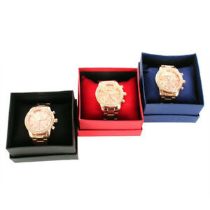 GN-Square-Cardboard-Storage-Case-Watch-Bangle-Jewelry-Box-with-Pillow-Pad-Noted