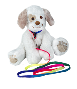PLUSH DOG TOY RAINBOW DOG LEAD - FITS MANY SIZES OF DOG