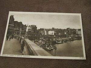 AH-amp-S-postcard-Westcliif-parade-amp-Harbour-Ramsgate-Thanet-Kent