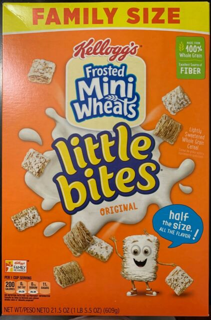 FROSTED MINI WHEATS LITTLE BITES