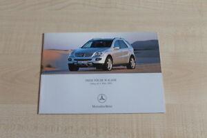 160139-Mercedes-M-Klasse-Preise-amp-Extras-Prospekt-03-2005