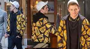 preview of top brands big discount Details about Adidas Originals ObyO Jeremy Scott PLAQUE TRACKSUIT JACKET&  PANTS *KINGSMAN*