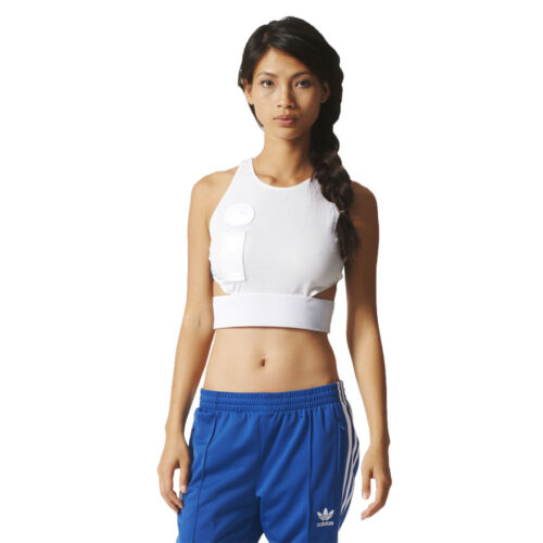 Unique Stylish Women/'s adidas Originals Cropped Top Sleeveless Shirt