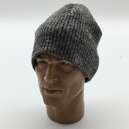 1//6 Scale 12inch Action Figure Accessories Gray Knitted Beanie Hat /& Jacket