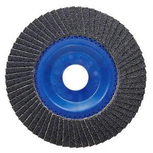 ds-Disco-Abrasivo-Lamellare-Carta-Vetrata-Smerigliatrice-Grana-80-Diam-115mm-dfh