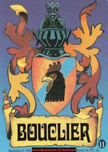 """Bouclier /""""poulet/""""11 Guardians CCG Limited FR"""