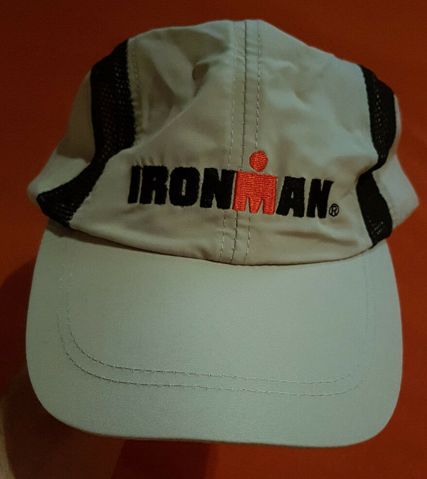 *LIMITIERT* IRONMAN NEU & ORIGINAL Teilnehmer Basecap/Mütze Hut Cap/Sonnenschutz