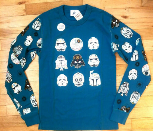 Details about  /NWT HANNA ANDERSSON GLOW IN THE DARK STAR WARS PAJAMAS SHIRT MEN ADULT SMALL S
