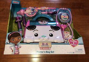 Disney Doc Mcstuffins Pet Rescue Doctor S Bag Set Kit Toy