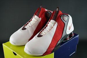 OG-2004-Nike-Shox-saltare-Taglia-UK-15-EU-50-5-DS-VOLO-VINTAGE-RARE-Allan-Houston