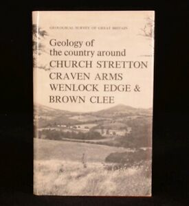 1968 Geology of the Country Around Church Stretton, Craven Arms by Various 1st