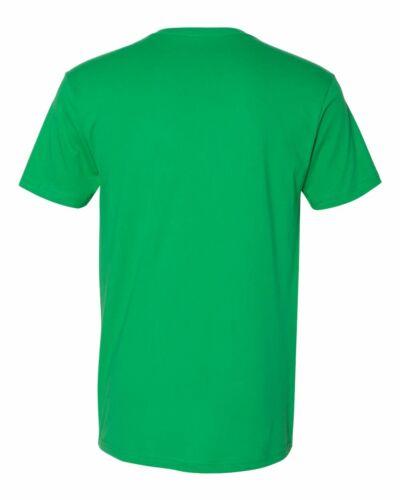 3200 Next Level Premium Men/'s V-Neck T-Shirt Ultra Soft Basic Plain V Neck Tee