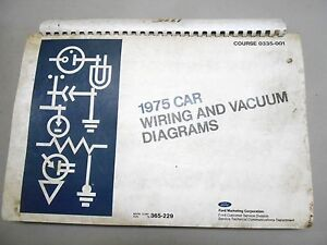 s l300 1975 ford mustang ii comet t bird couger factory original wiring