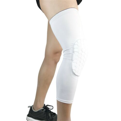 Football Basketball Knee Pads Honeycomb Knee Brace Support Leg Elbow Protect RK