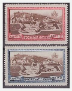 VATICANO-1933-ESPRESSI-SERIE-NUOVA