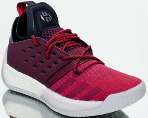 3ba2879923b4 adidas Harden Vol.2 Maroon Men Basketball Mystery Ruby Red Night ...