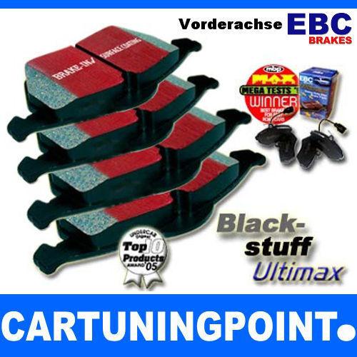 EBC Bremsbeläge Vorne Blackstuff für Toyota Verso /_AUR2/_ /_ZGR2/_ DP1950