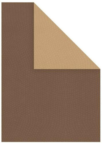 Grußkarten-Papier STRUKTUR-Papier und Karton DUO-DESIGN 2-farbig 10//20 Stück