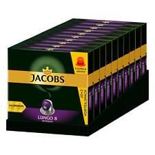 JACOBS Kapseln Lungo 8 Intenso 220 Nespresso®* kompatible Kaffeekapseln 10x22