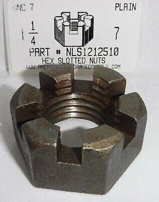 FABORY U04120.043.0001 Hex Nut,7//16-14,Gr 8,Steel,Plain,PK50