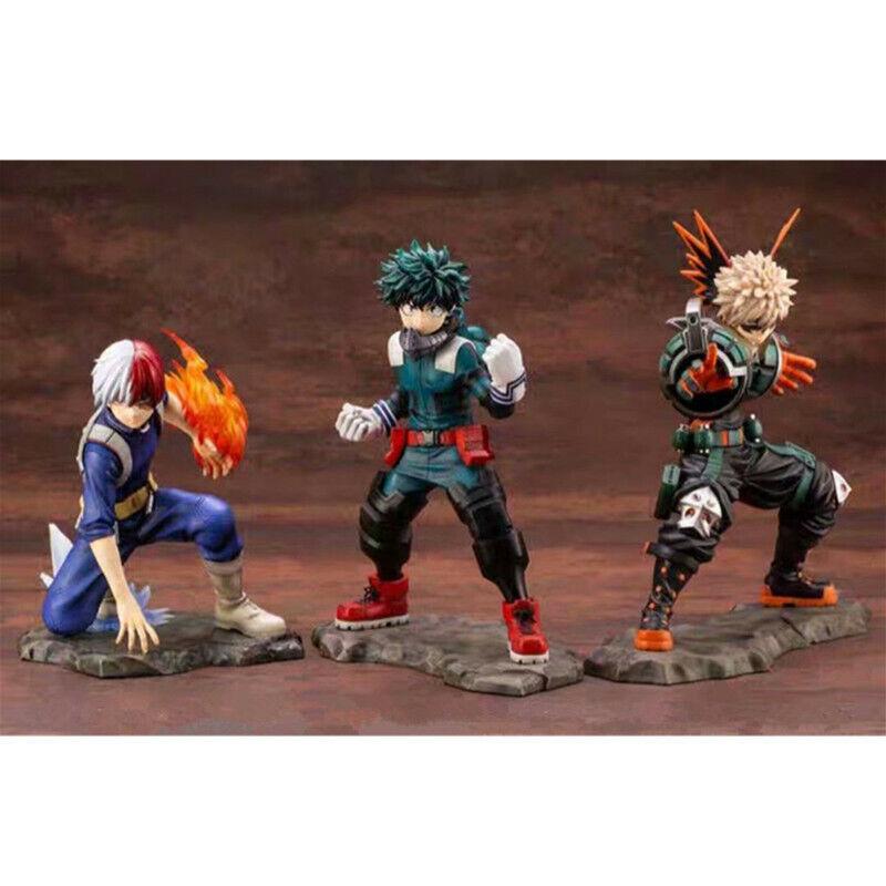 1 8 anime Midoriya Izuku cifra giocattoli Boku  Todoroki Scalienteo ARTFX J Figurine loose  migliore qualità