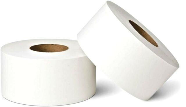 "5202 SunnyCare 12/"" Sr 2 Ply 3.74/'/'x2000/' Jumbo Roll Paper Bathroom Tissue 6Rolls"