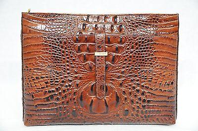 NWT! Brahmin All Day Convertible in Pecan Melbourne Crossbody/Shoulder bag.Brown