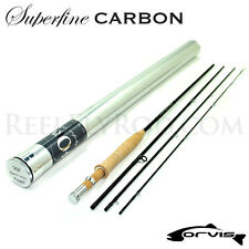 "NEW - Orvis Superfine Carbon Fly Rod 2wt 6'0"" - FREE SHIPPING!"