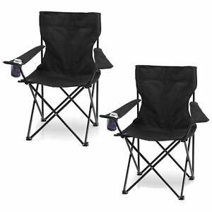 2x-FOLDING-CAMPING-FISHING-CHAIR-SEAT-FOLDABLE-BEACH-OUTDOOR-HIKING-PICNIC-BBQ