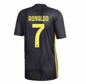 free shipping 95dbf fc2e2 adidas Juventus 2018 - 2019 C. Ronaldo # 7 Third Soccer ...