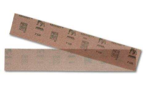 Mirka Abranet Schleifpapier Streifen 70x400mm Klett Gitternetz 50Stk P80-P400