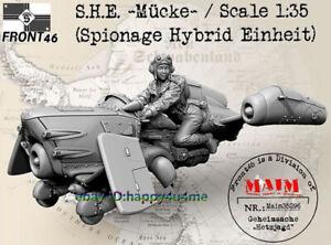 1-35-Model-Kits-Female-Pilot-and-Plane-Figure-Resin-GK-Unassembled-Unpainted