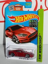 Hot Wheels Factory Set 2015 Then And Now Series #250 Aston Martin DBS Red