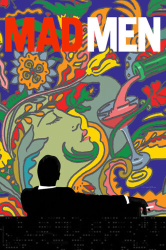 Free Shipping Mad Men Promo Poster 24x36 inches