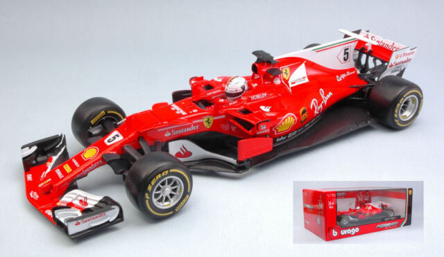 1 18 Bburago Ferrari Sf70h Vettel 2017 Günstig Kaufen Ebay