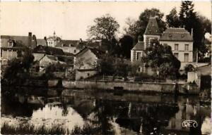 CPA PREUILLY-sur-CLAISE La Claise et l'Hotel de Ville (611954)