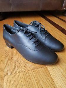 Capezio mens standard ballroom  dance shoes SD103 black $39.99