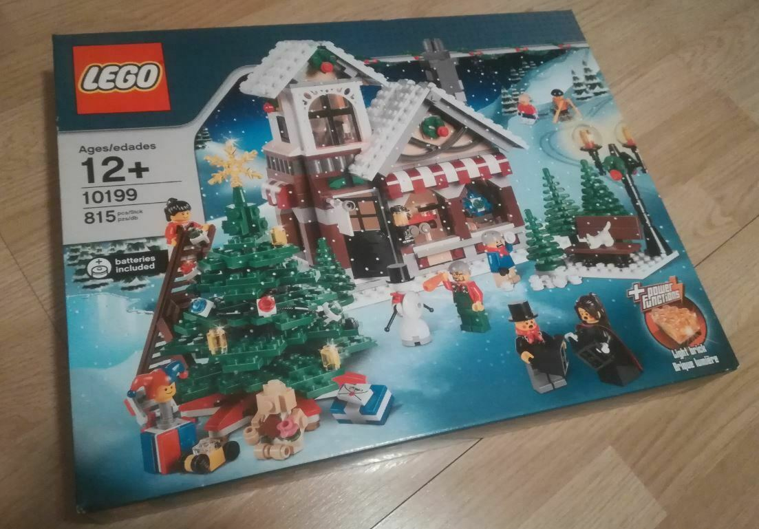 Rare Discontinued New Lego Winter Toy Shop Set 10199 Factory Sealed Boxed