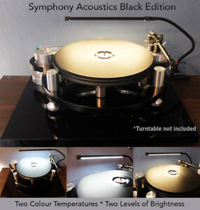 BLACK-Turntable-Record-Player-LED-Lamp-Light-fits-Rega-Funk-Thorens-Clearaudio